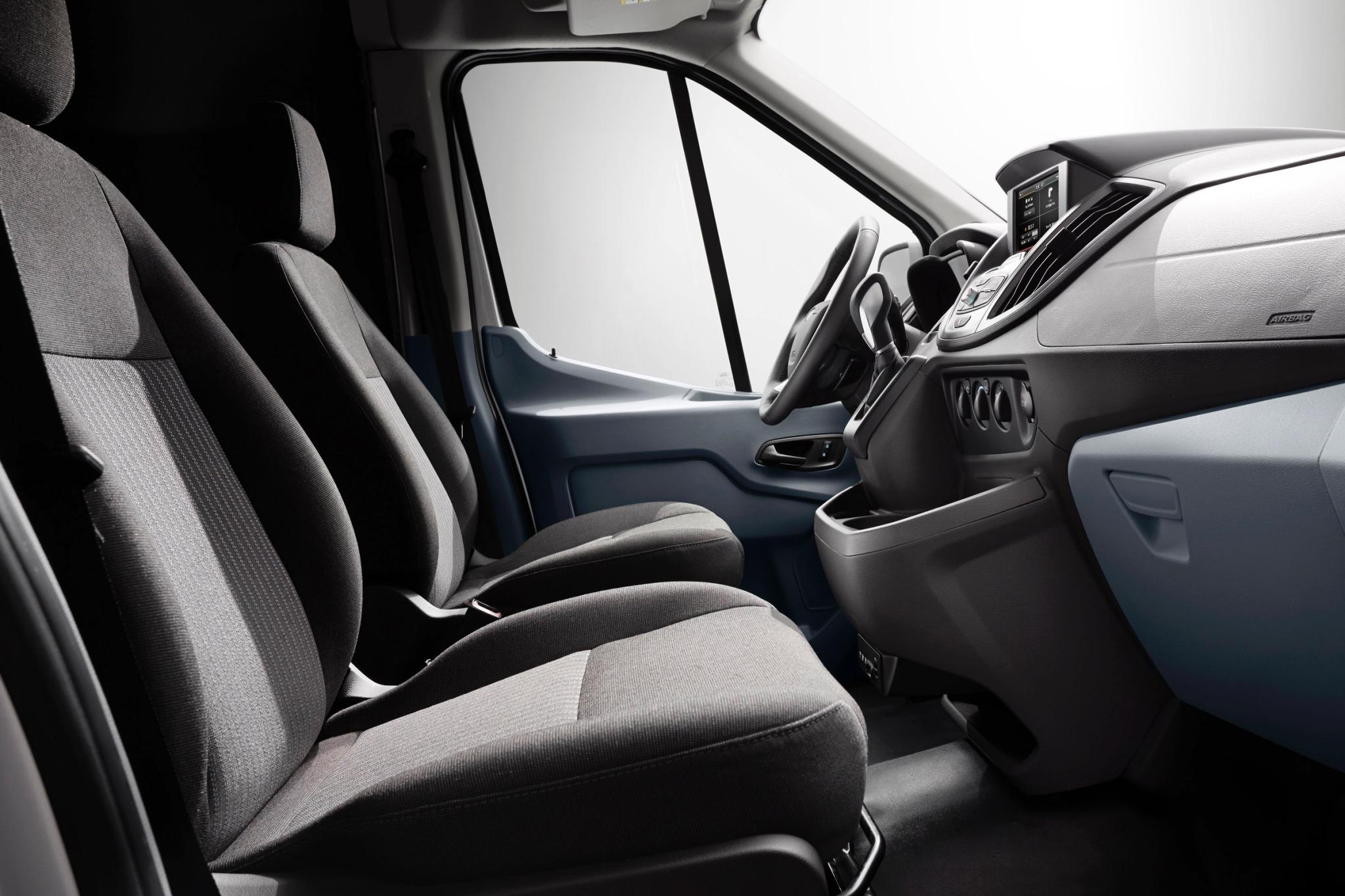 2015 ford transit van 350 interior 9
