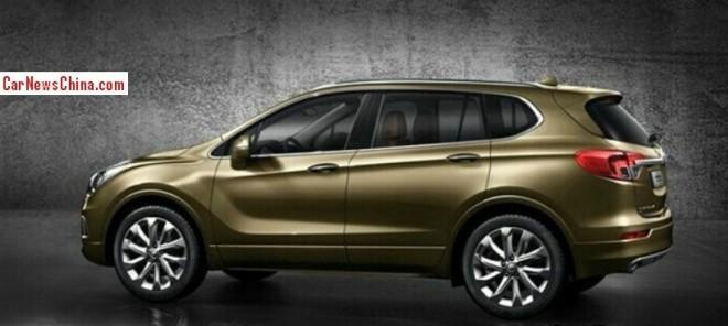 2016 Buick Envision #9