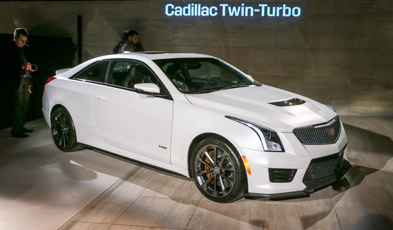 2016 Cadillac Ats V Image 10