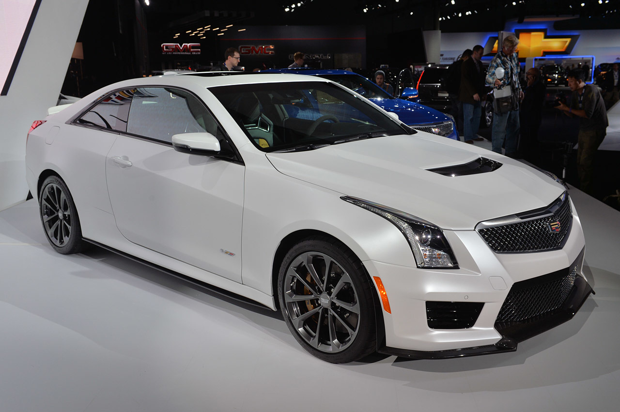 2016 cadillac ats v information and photos zombiedrive. Black Bedroom Furniture Sets. Home Design Ideas