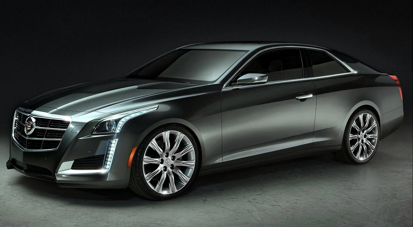 exterior black cts ever models ats series chrome sport brings cadillac first v gm grille for sedan blog carbon package and