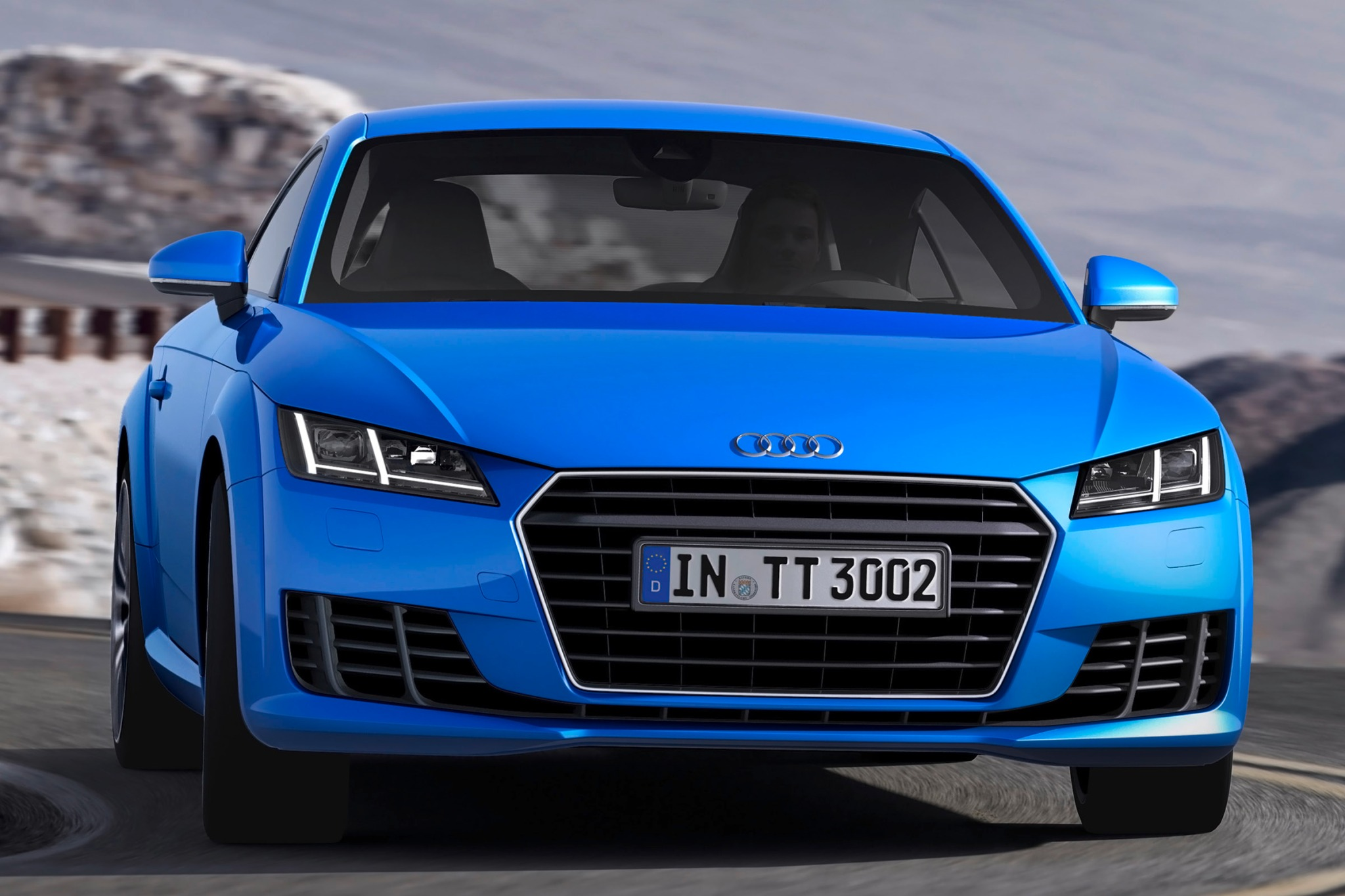2016 Audi TT Coupe Steeri interior #3