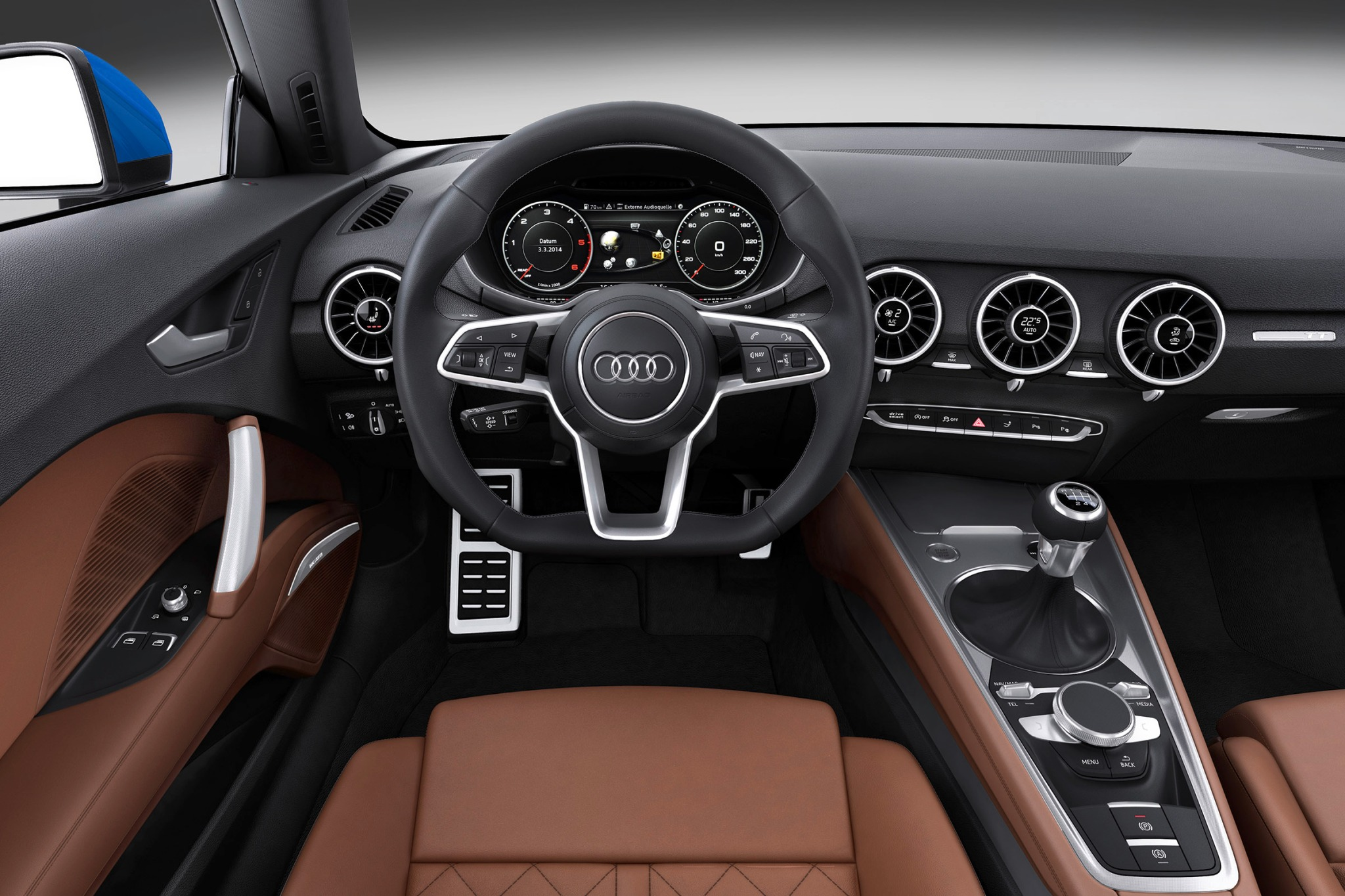 2016 Audi TT Coupe Steeri interior #5