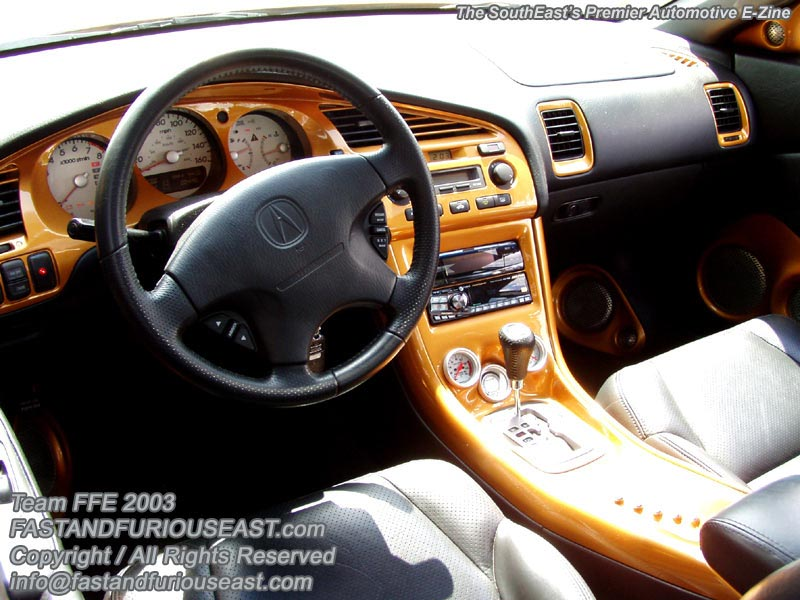 Bronze Acura CL 2003 Still Looks Good #22
