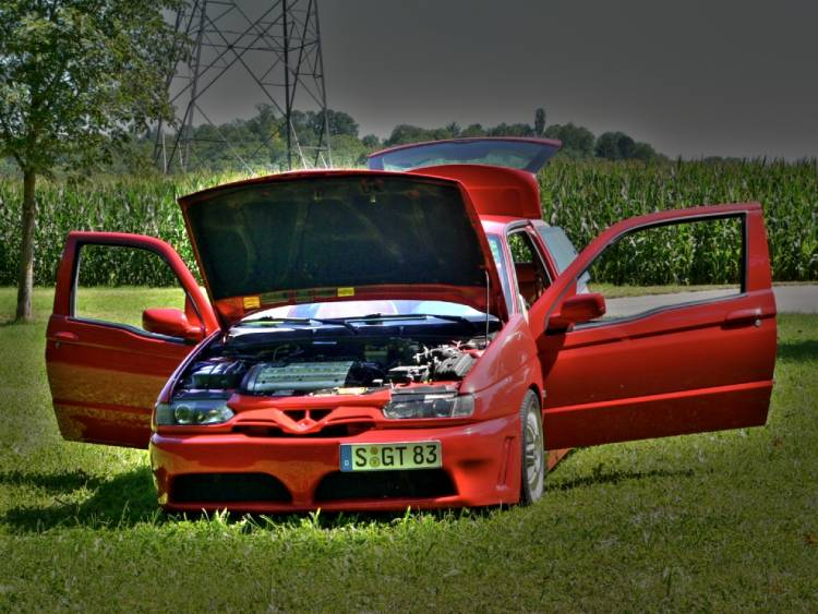Alfa Romeo 145 is the red venom  #9