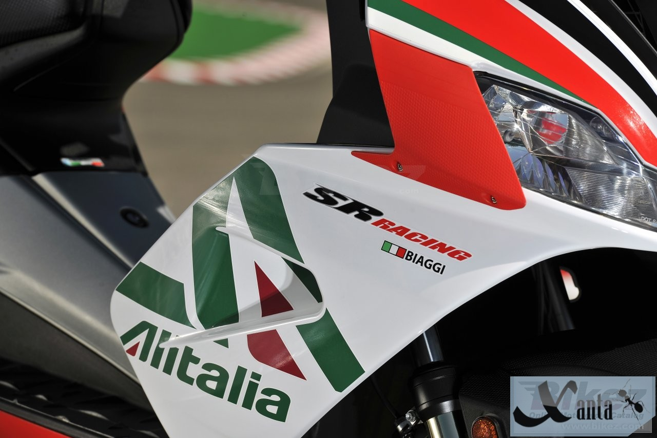 All fresh and sporty Aprilia SR
