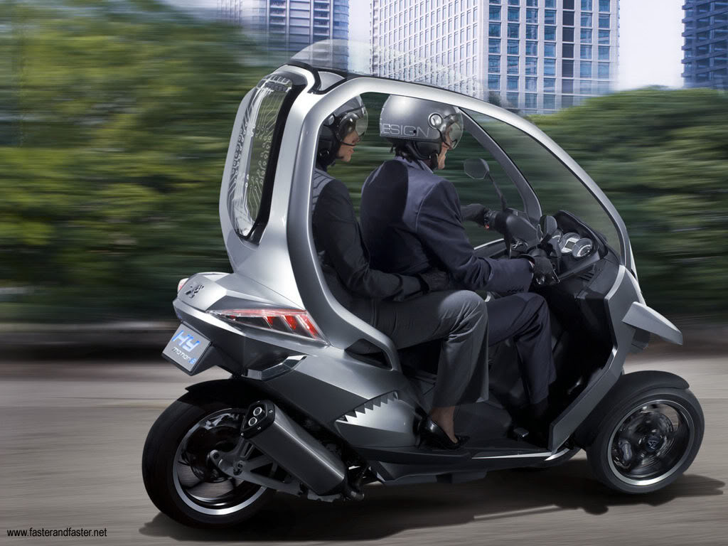 funky bmw c1 the ideal car like scooter. Black Bedroom Furniture Sets. Home Design Ideas