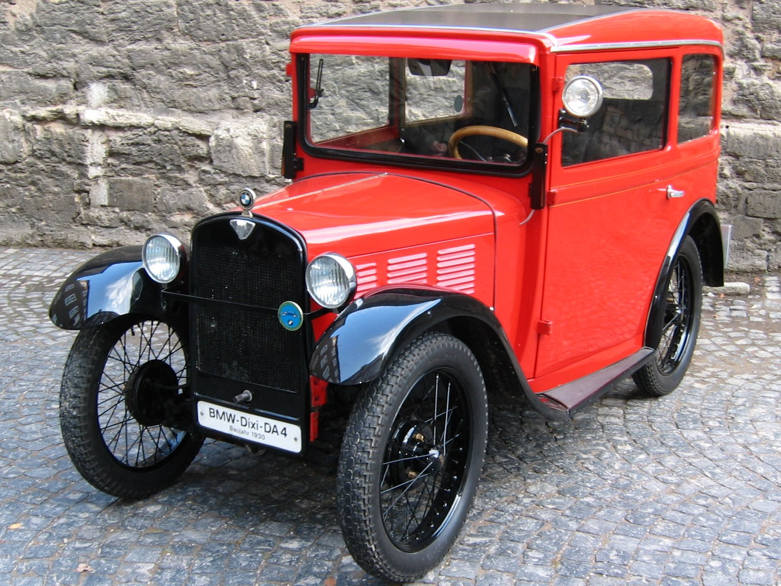 BMW DIXI THE FIRST BMW CAR EVER MADE Image 4
