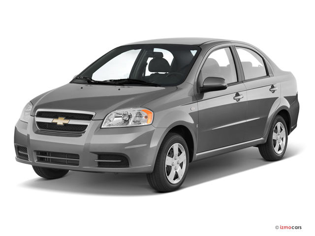 Chevrolet Aveo - not a dancing transformer, but a realistic car  #1