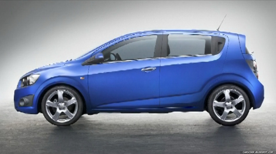 Chevrolet Aveo - not a dancing transformer, but a realistic car  #4
