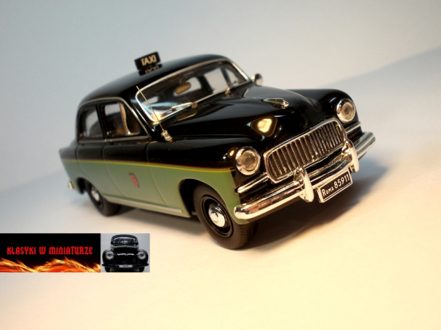 Classy Taxi Fiat 1400 Image 1