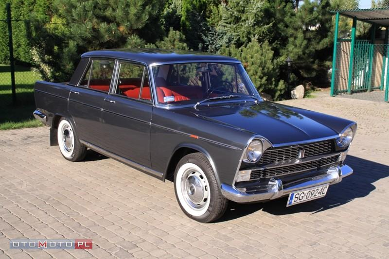A vintage charm of Fiat 1800