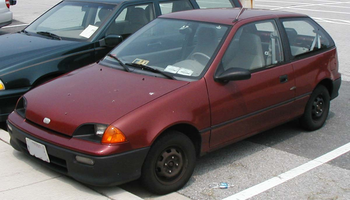 Geo Metro, The Upgraded Suzuki Cultus #7