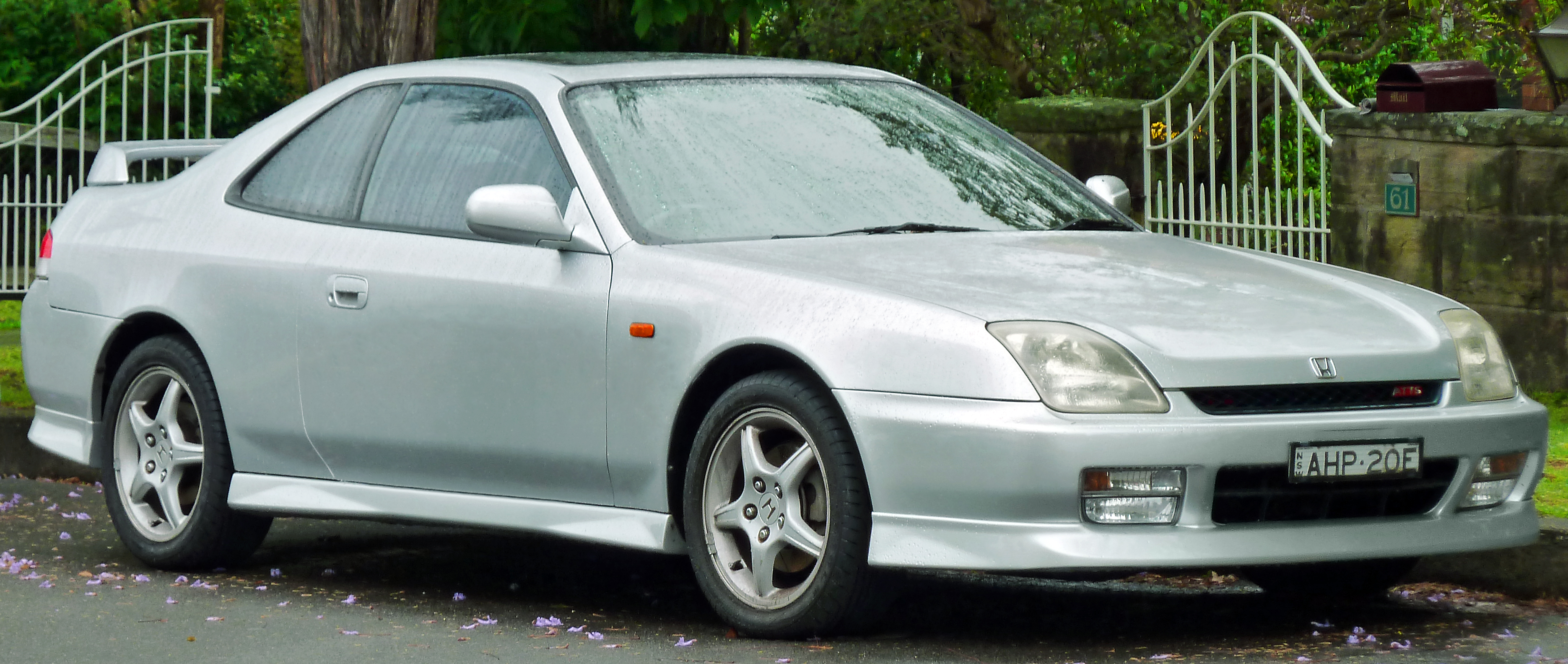 Honda Prelude Given A Sporty Facelift #16