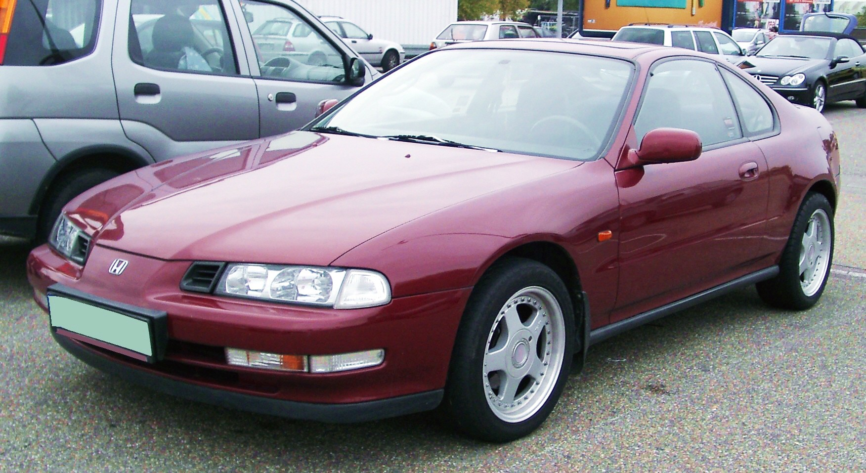 Honda Prelude Given A Sporty Facelift #17