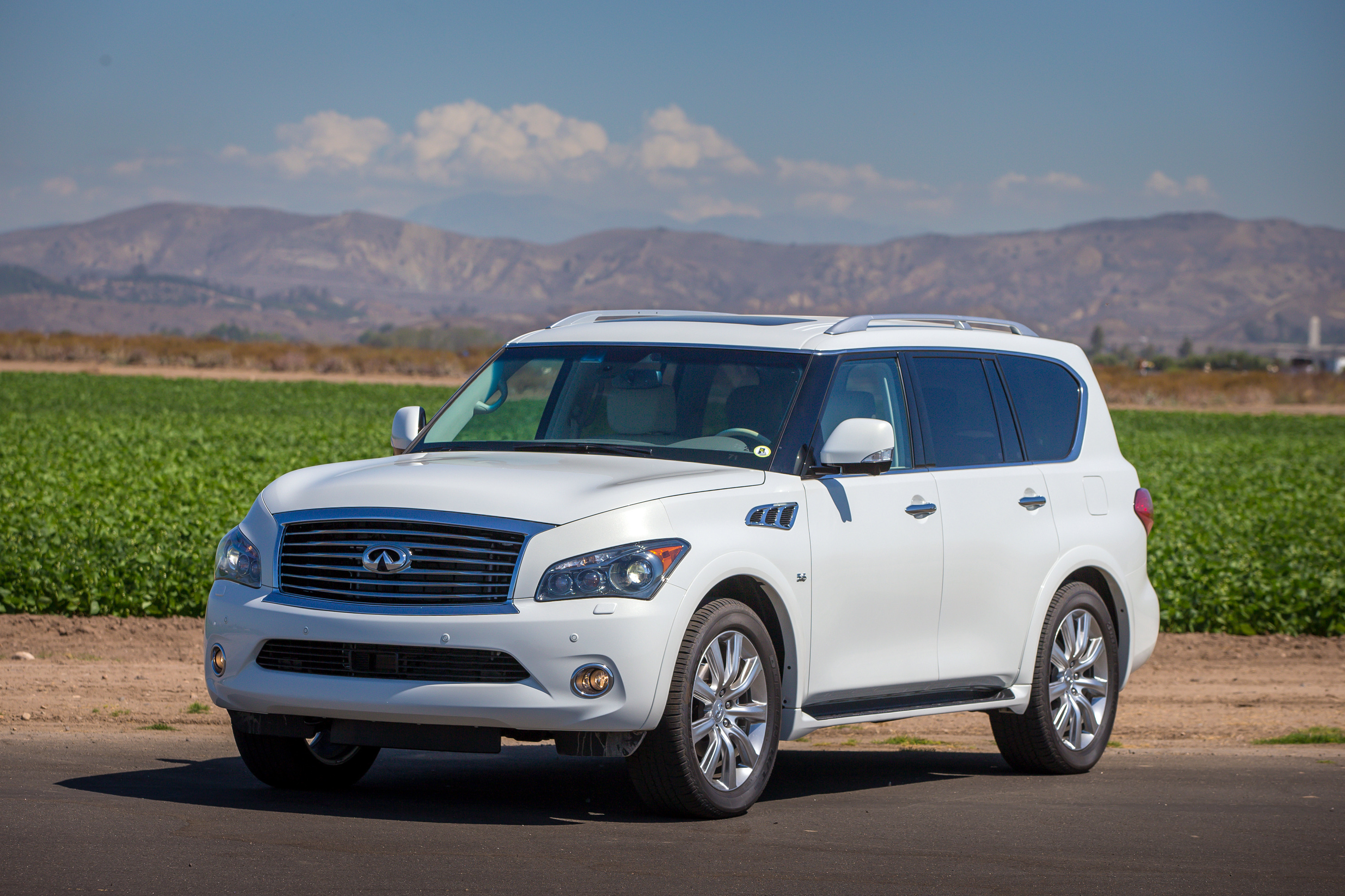 The Rebranding Process Of Infiniti QX80 #7