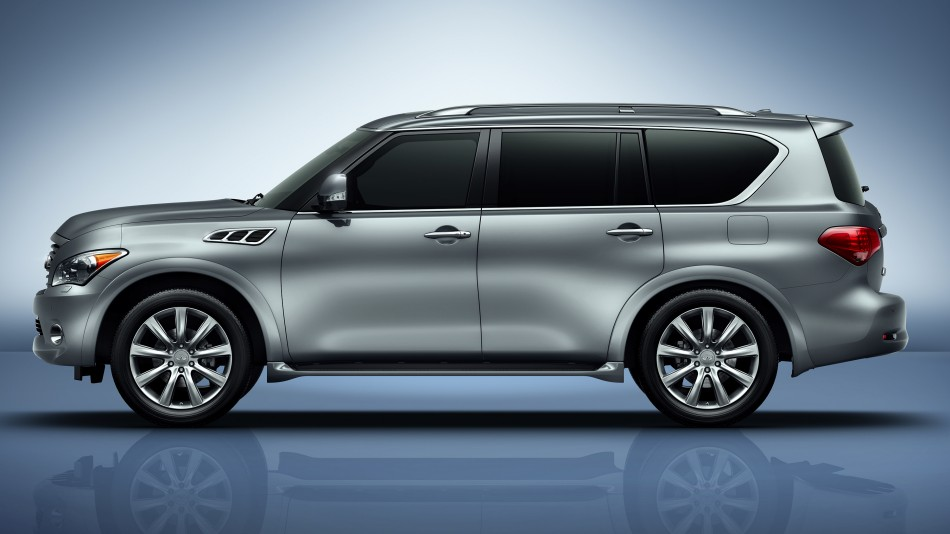 The Rebranding Process Of Infiniti QX80 #2