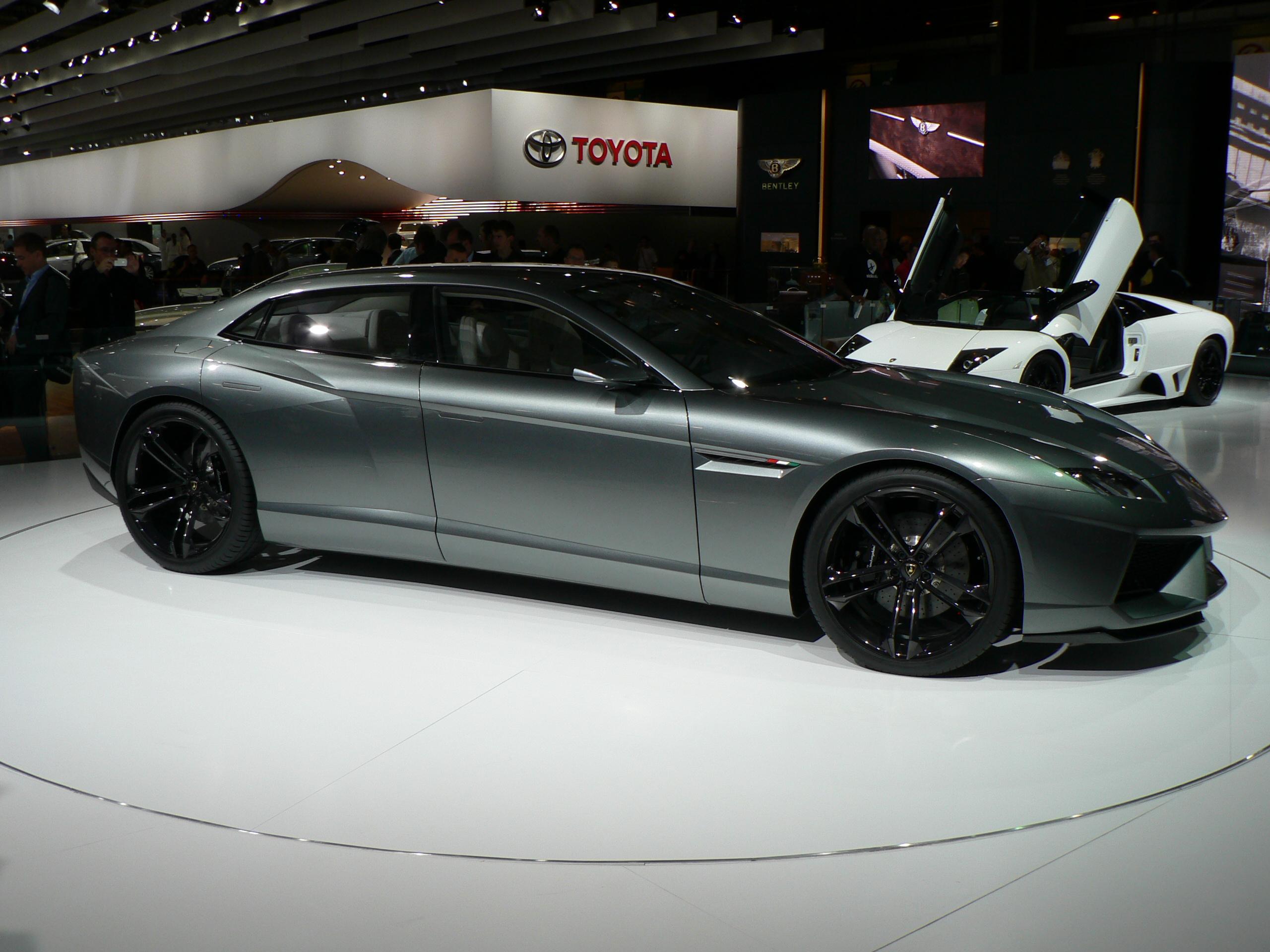 Lamborghini Estoque The Concept That Everyone Dreams About Image 7