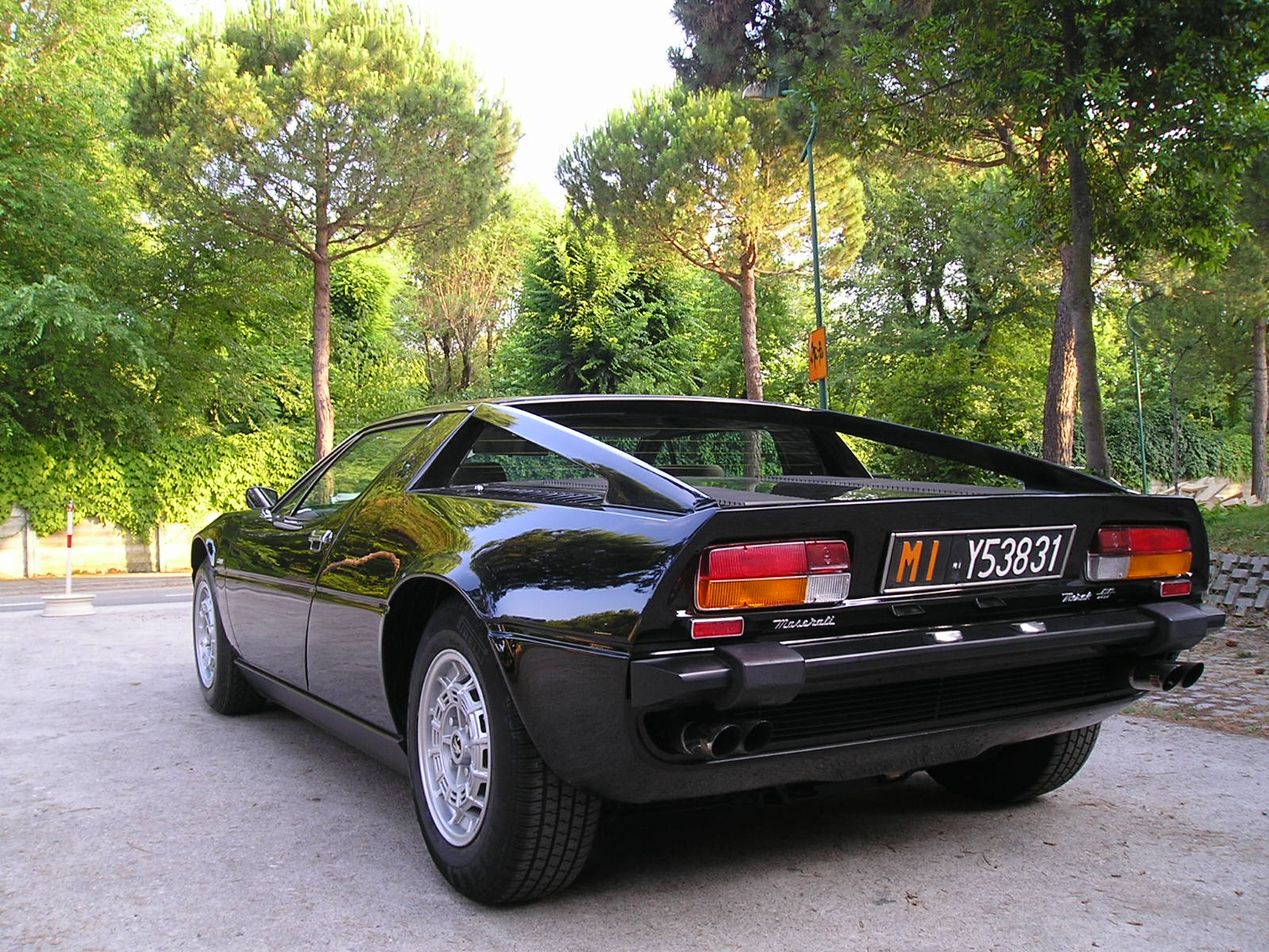The Batman's Car of maserati Merak #2