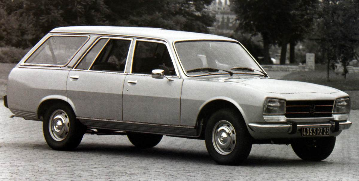 Peugeot 504 Or What Nuns Drive