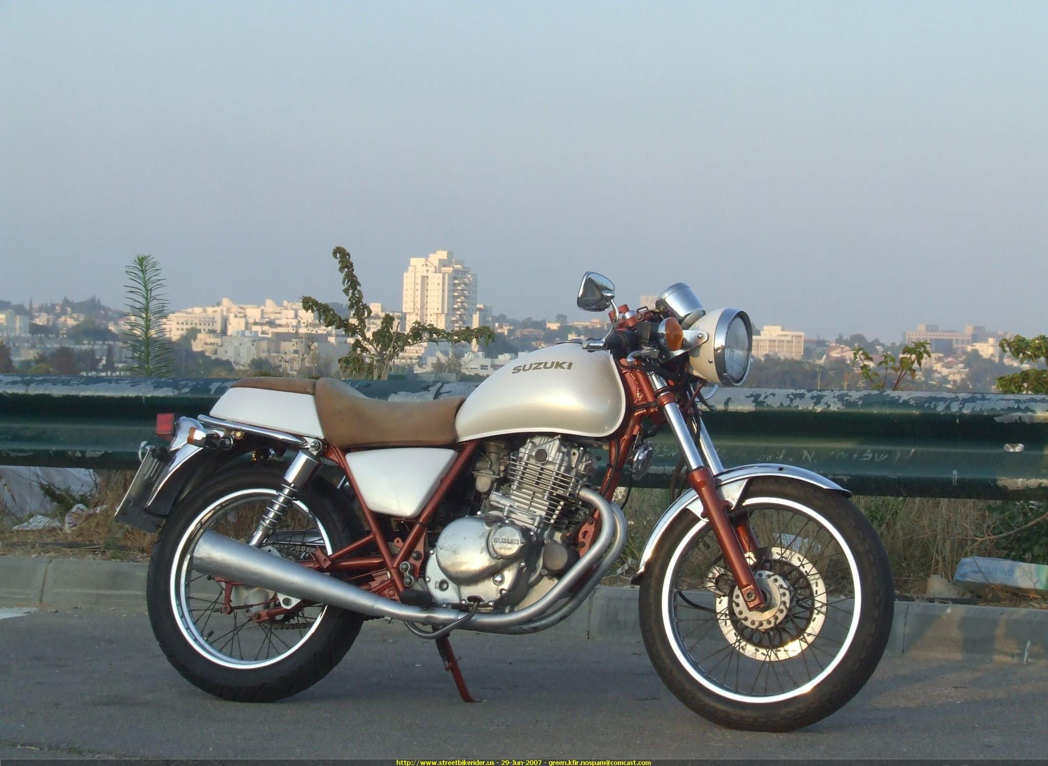 Suzuki Tu Custom