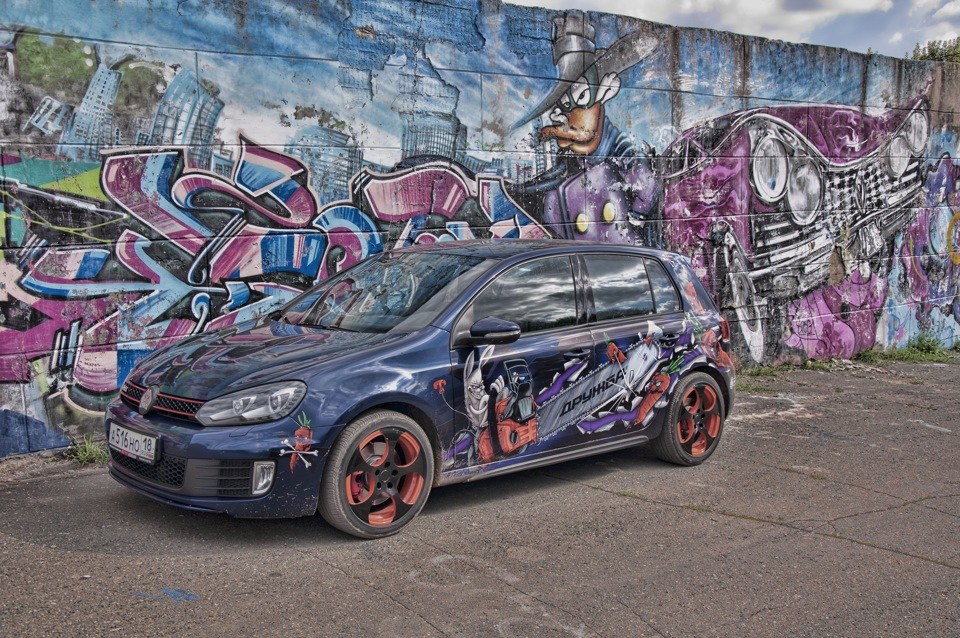 Customization is at its best on Volkswagen Golf