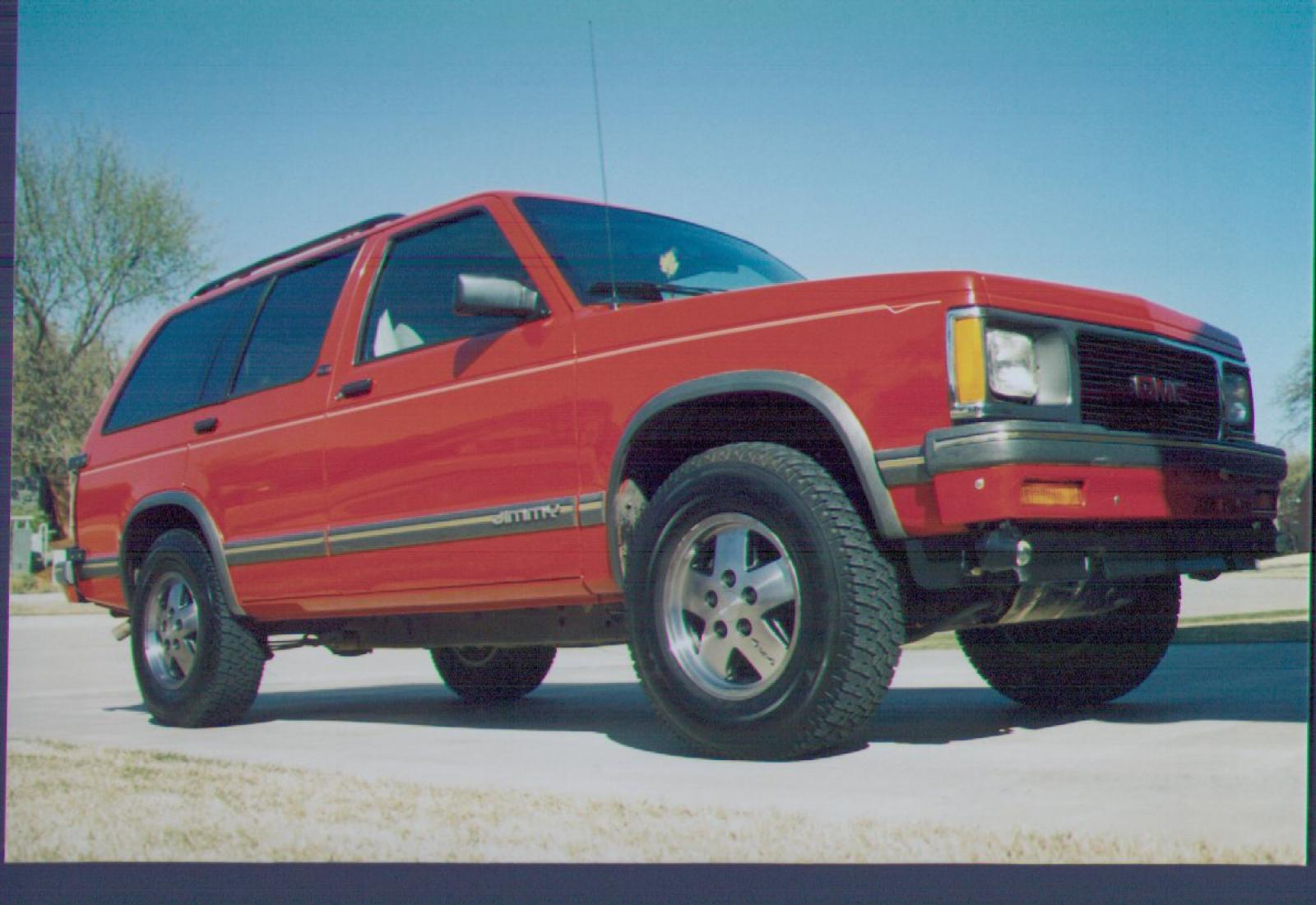 1994 Gmc Jimmy Information And Photos Neo Drive