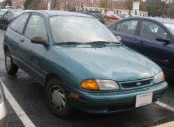 1996 Ford Aspire #4