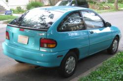 1996 Ford Aspire #6