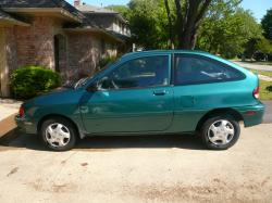 1996 Ford Aspire #8