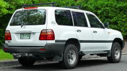 1998 Toyota Land Cruiser #9