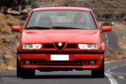 Mind-blowing stunts of Alfa Romeo 155