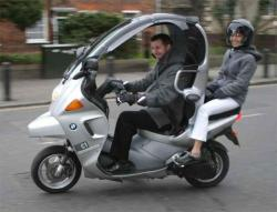 funky BMW C1 - The Ideal Car-Like Scooter?