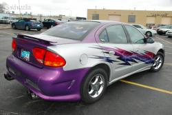 Fantasy? Nope! It's a real customized Chevrolet Alero