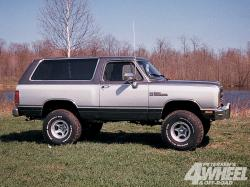Live The Life Of A Titan In The Dodge Ramcharger