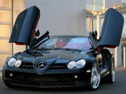 Mercedes-benz SLR McLaren is probably the most stunning car in the world