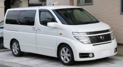 Nissan Elgrand is not a car from England