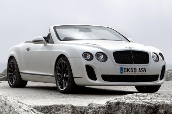 2012 Bentley Continental Supersports Convertible #1
