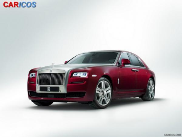 2015 Rolls-Royce Ghost Series II #1