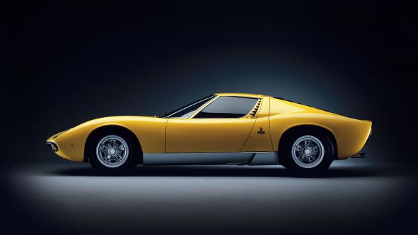 Lamborghini Miura, a perfect fit for Need for Speed