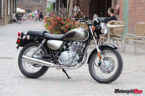 Who needs a bobber when they have Suzuki TU250?