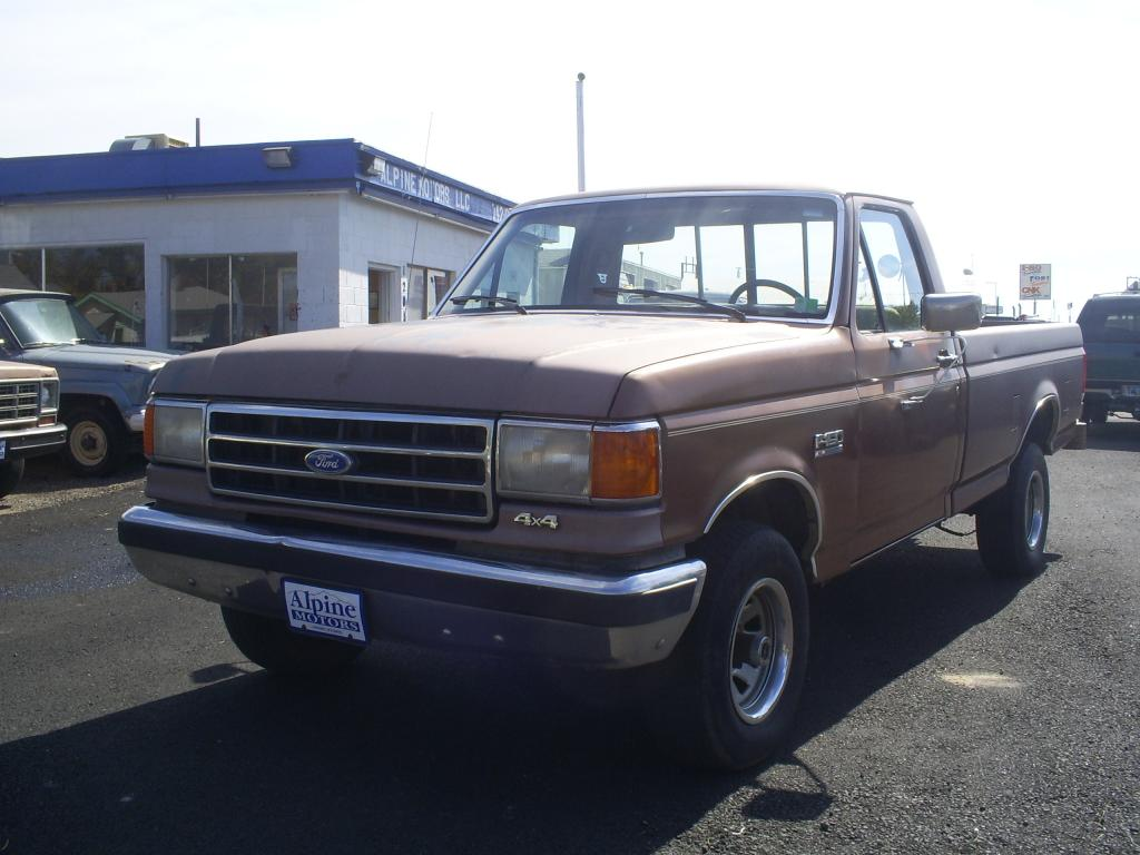 1990 ford f 150 info