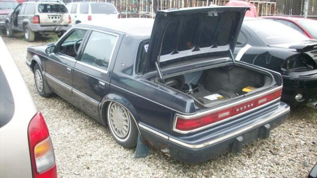 1991 Dodge Dynasty Information And Photos Zombiedrive