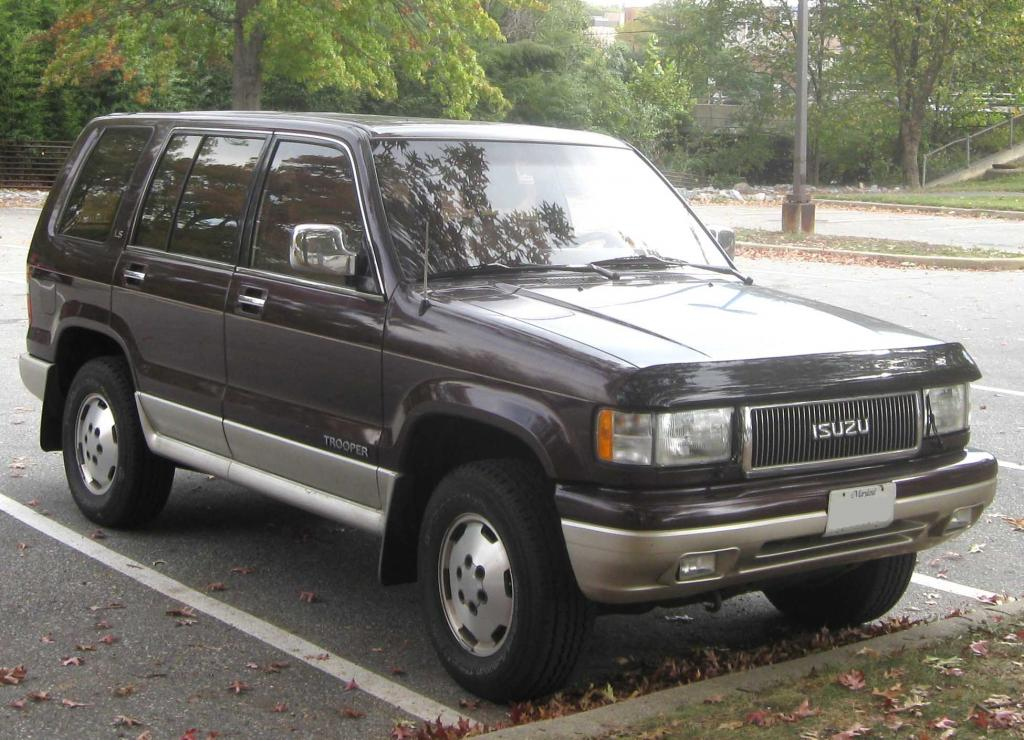 1991 Isuzu Trooper Information And Photos Zombiedrive