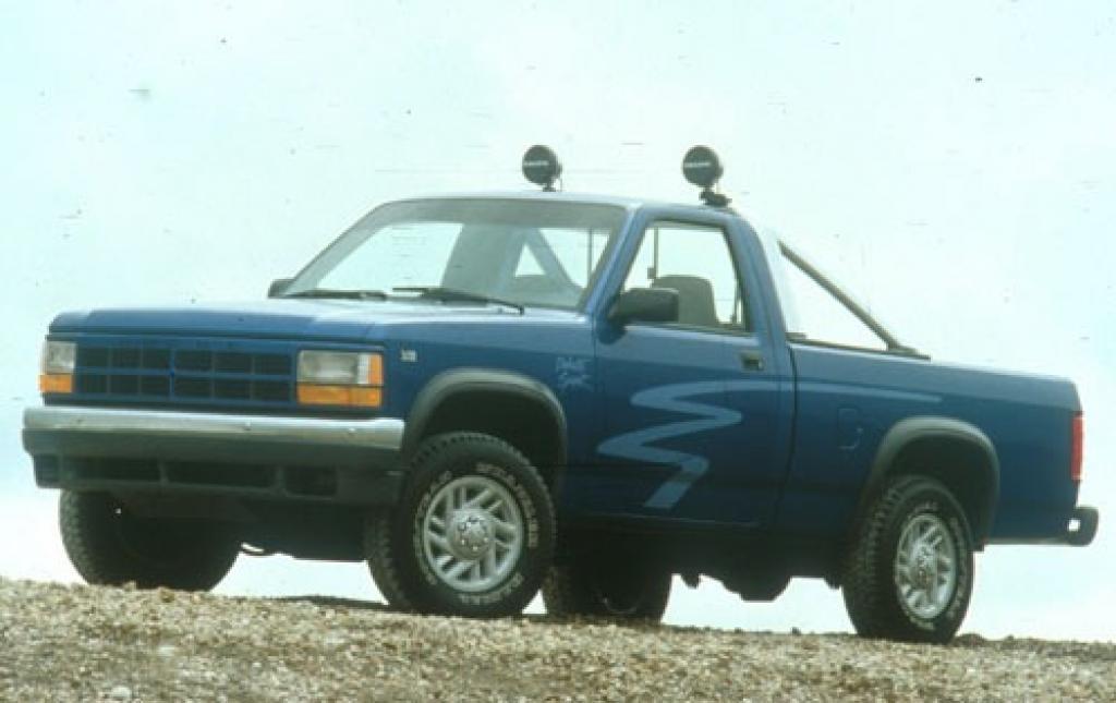 Dodge Dakota Regular Cab Pickup Sport Fq Oem on 1991 Dodge Dakota Sport