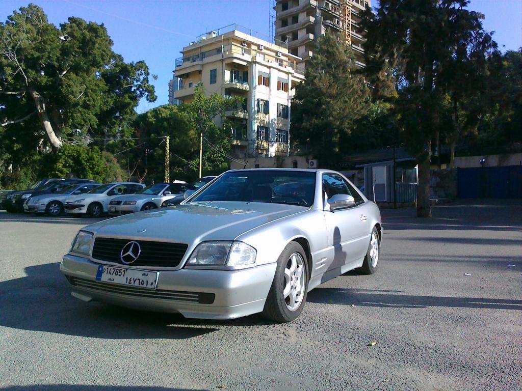 1994 mercedes benz sl class information and photos for Mercedes benz sls class