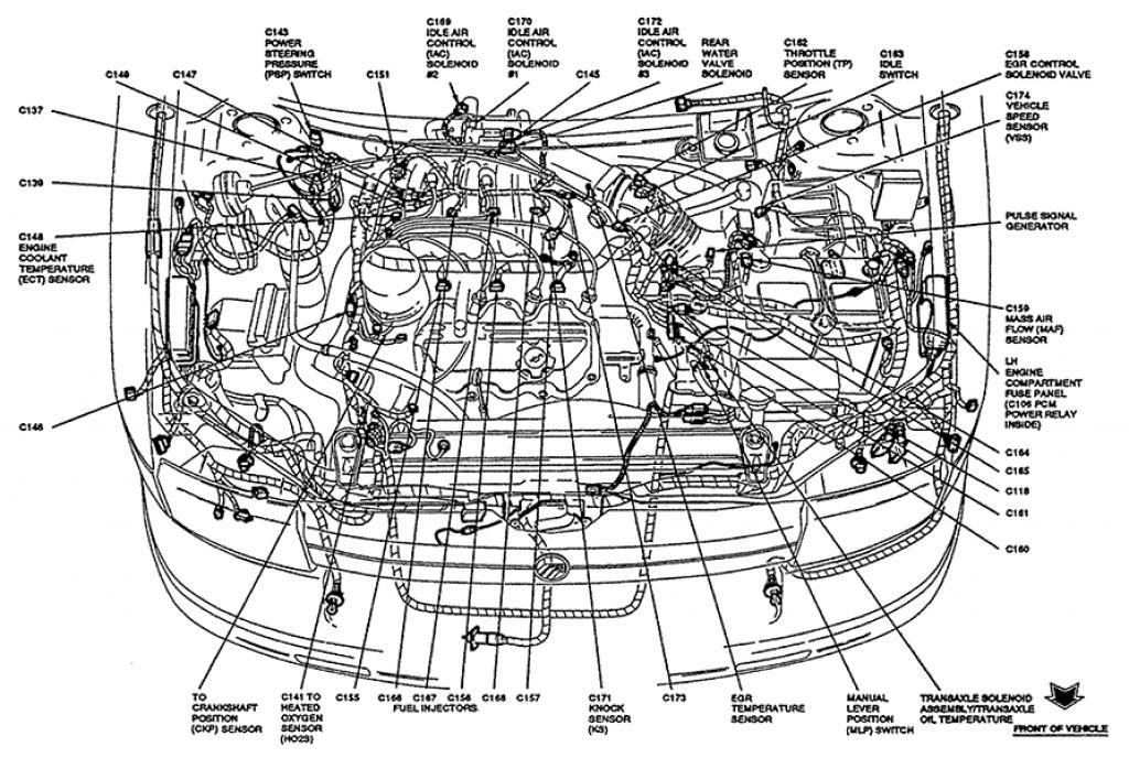 1994 Mercury Villager Information And Photos Zombiedriverhzombdrive: 1997 Mercury Villager Engine Diagram At Gmaili.net