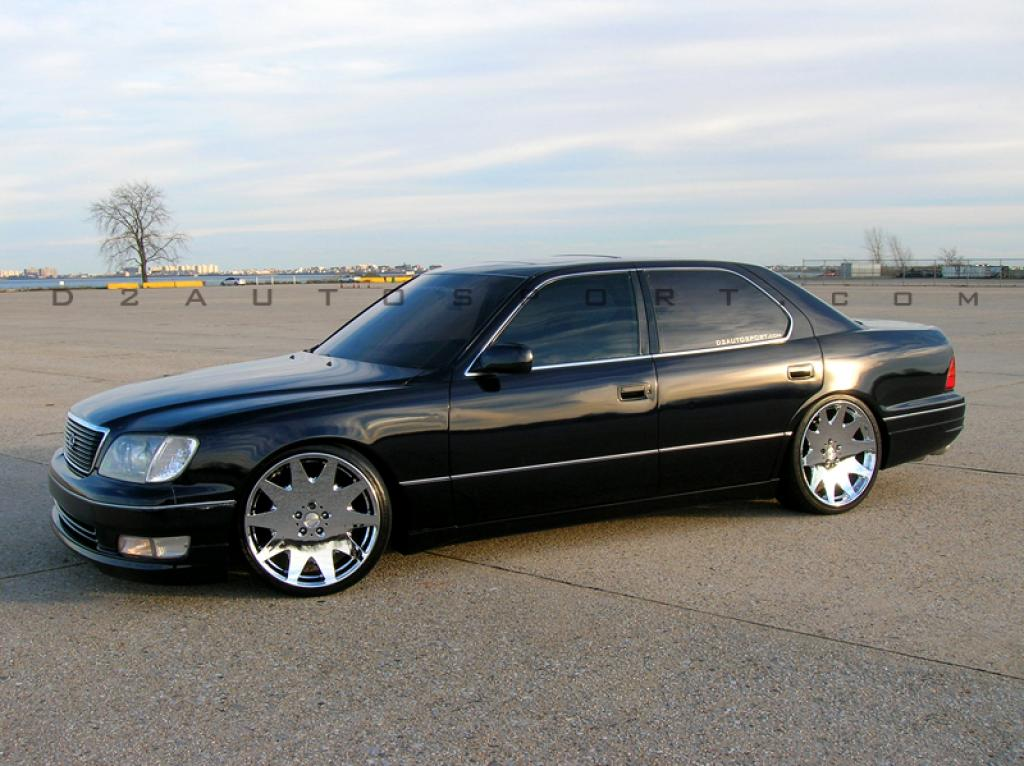 1995 lexus ls 400 information and photos zombiedrive. Black Bedroom Furniture Sets. Home Design Ideas