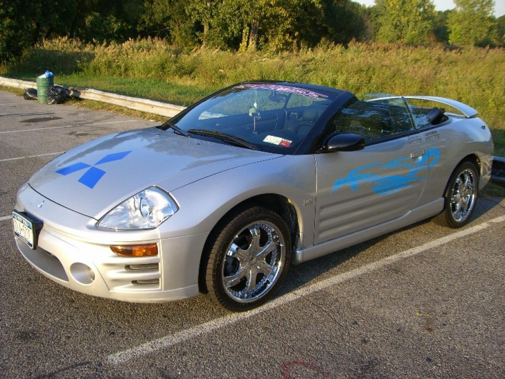 1996 Mitsubishi Eclipse Spyder - Information and photos - ZombieDrive