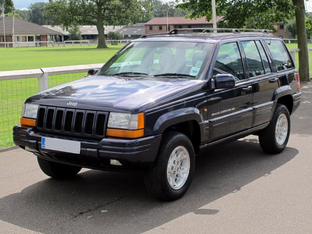1997 jeep grand cherokee information and photos zombiedrive. Black Bedroom Furniture Sets. Home Design Ideas